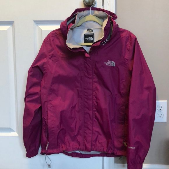 6ada6c2be The North Face women's purple rain jacket